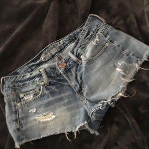 4 American Eagle shortie Shorts